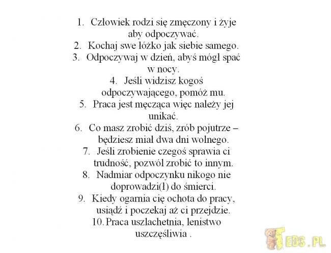 10 zasad
