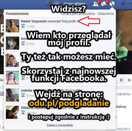 Chcesz wiedzieć kto przeglądał Twój profil na Facebooku? Teraz m