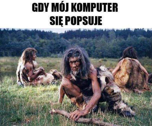 Popsuty komputer