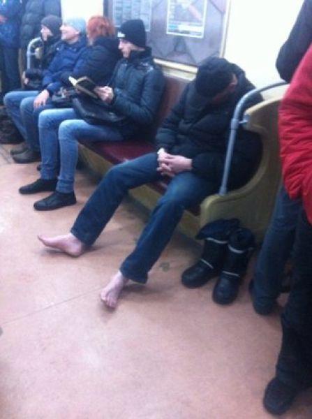 Ktoś zapomniał butów