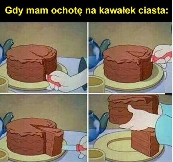 Kawalek ciasta