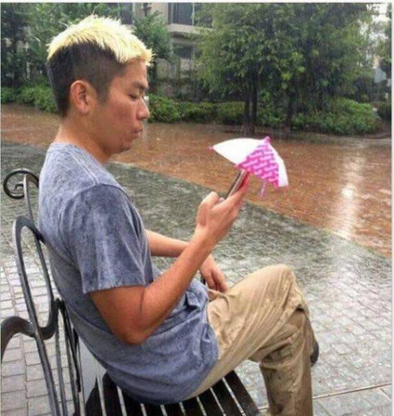 Parasol na telefon