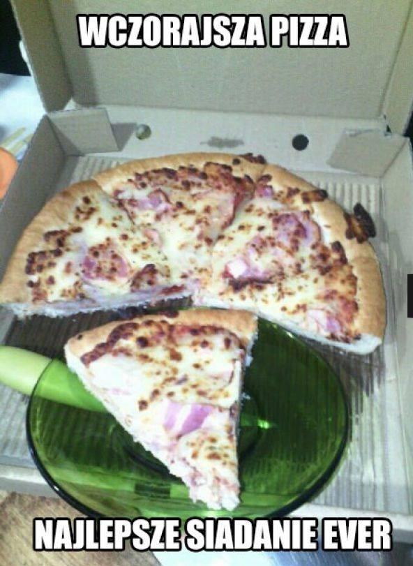 Wczorajsza pizza