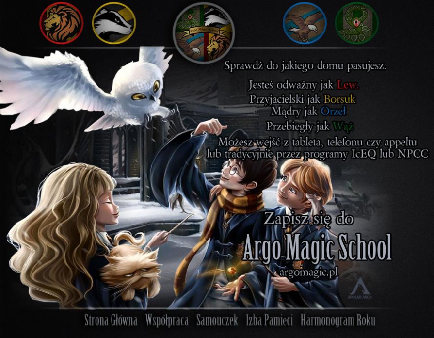 Argo Magic School - zapisz się już dziś!
